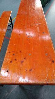 Bierzeltgarnituren 3 Tische und 10