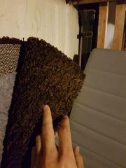 IKEA Langflor Teppich in dunkelgrau
