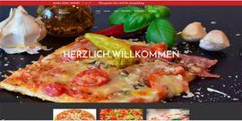 Homepage, Webseite Pizzeria + Restaurant ab 289 EUR