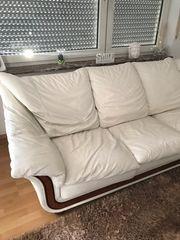 Hochwertige echt Leder Couch