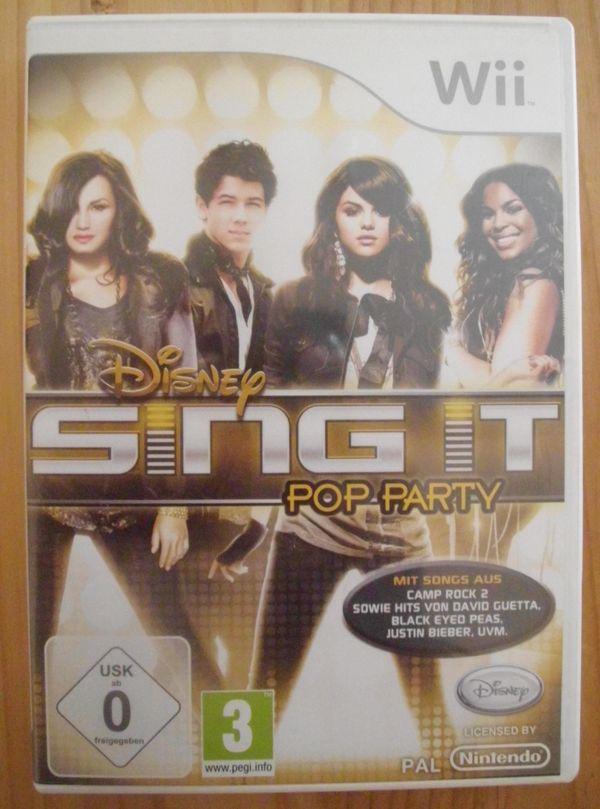 WII Spiel SINGIT POP PARTY