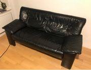 Elegantes Sofa in Lederoptik - bequem -