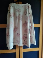 Schöner damen Pullover blumenmuster