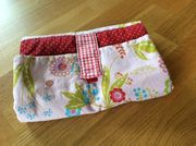 Wickeltasche für unterwegs Maiglöckchen Muster