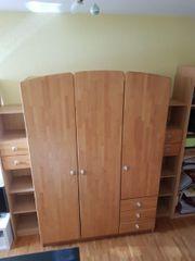 Kinderzimmermöbel Schrank Regale Kommode