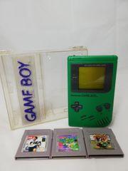 Gameboy Classic Grün mit 3