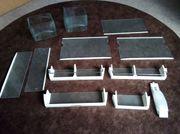 11 x Einlegeböden - Schubladen Ablage