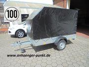 PKW Aluminium - Anhänger 750 kg