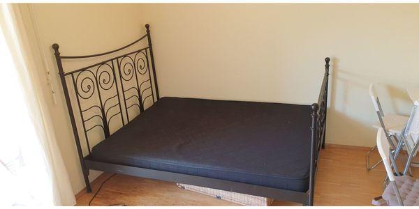 Doppelbett Ikea Noresund zu verschenken