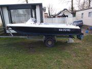Speedboot Angelboot komplett aus GFK