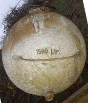 Wasserfass 1500 L verzinkt