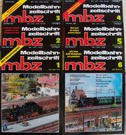 Modellbahn Zeitschrift MBZ Dez 90