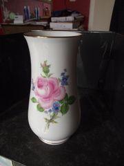 Meißen kleine Vase Rose mit