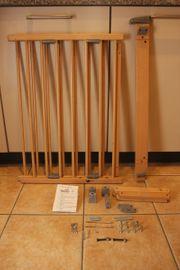Treppengitter Geuther Graues Plastik Holz