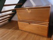 Schrank Schuhbladen aus Massiv Holz
