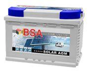 BSA AGM Solarbatterie 60Ah 12V