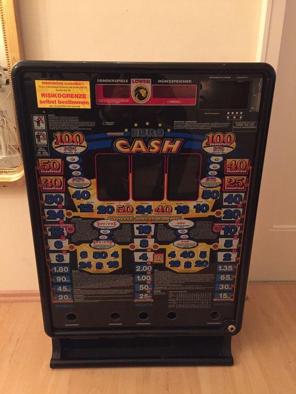 Geldspielautomat - Leergehäuse Euro Cash ideal