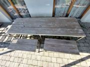 Gartenmöbel - Tisch Bänke Hocker