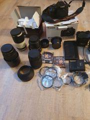 Canon EOS 650D mit viel