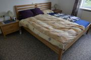 Doppelbett Nachttische Roste Matratzen