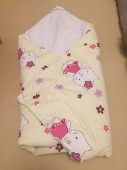 Hello Kitty Wickeldecke-Schlafsack für Neugeborene