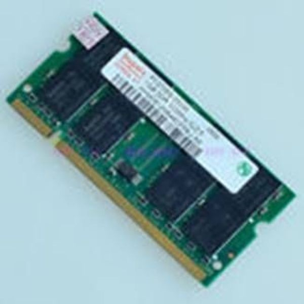 2 x 1GB PC2700 333mhz