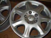 2x 4 Alufelgen Mercedes 16