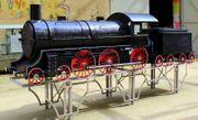 Lokomotive Grill 2 5m lang
