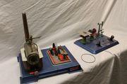 original Wilesco Dampfmaschine Kreissäge Bohrmaschine