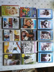 DVDs 5EUR Stück und VHS