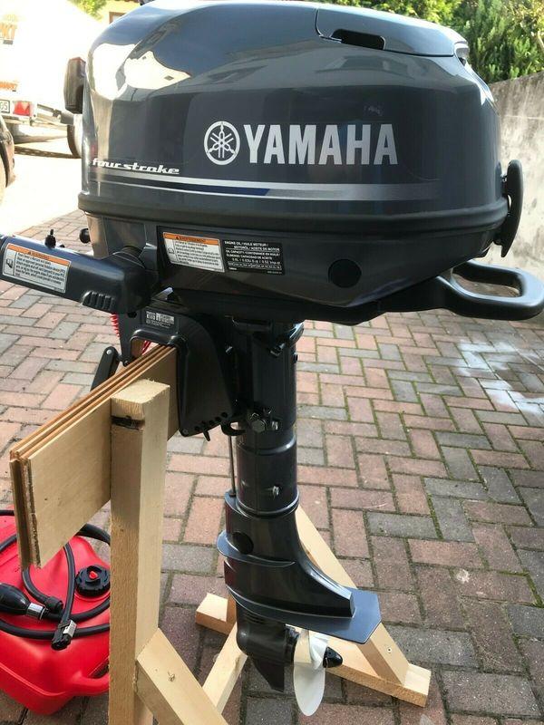 Yamaha Aussenbordmotor F5AMHS 4-Takt Bootsmotor