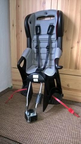 Fahrradsitze - Römer Fahrrad-Kindersitz Jockey Comfort 9-22