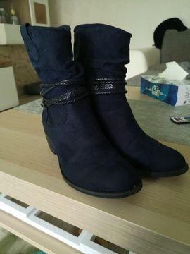 Schuhe, Stiefel - Blaue Stiefeletten Grösse 37