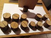 Tischkartenhalter Holzstämmle