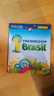 Panini-Album Fußball FIFA WM 2014 Brasilien