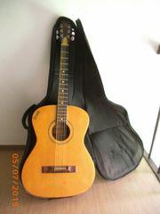 Gitarre fürs Lagerfeuer Westerngitarre