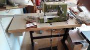 Jersey-Nähmaschine Kettstich Flachbettmaschine