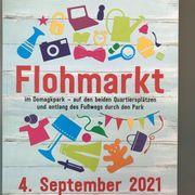 Flohmarkt im Domagkpark am Samstag