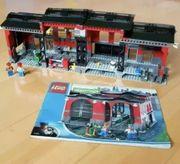 Lego City Lokschuppen Werkstatt mit
