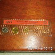 DM Kursmünzen 1977 Stempelglanz