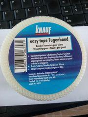 Knauf Fugenband easy-tape selbstklebend Gipskarton