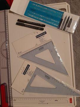 Schul- und Lehrbedarf - Zeichenplatte A3 mit Tasche und