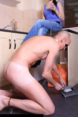 Femdom domestic chores, famous naked female actors