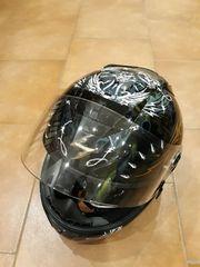 Motorradhelm Scorpion und Motorradkleidung Jacke