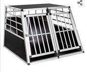 Transport Doppelbox für Hunde