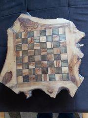 Schachbrett Brettspiel Handarbeit