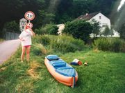 2er-Kajak für Sommer-Paddelspaß