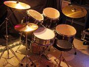 Schlagzeug komplett Millenium mit Becken