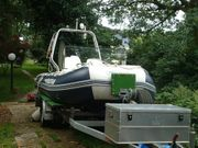 Schlauchboot Aqua mit Motor Suzuki