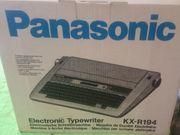 Elektronische Schreibmaschine Panasonic KX-R 194